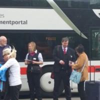 Beliebteste Busstrecke Schweiz - Deutschland